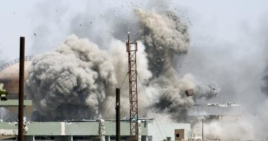 ناشطون: التحالف الدولى يشن غارات جوية على داعش فى دير الزور
