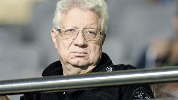 نهائي كأس مصر .. تصرف غريب من مرتضى منصور فى مدرجات برج العرب