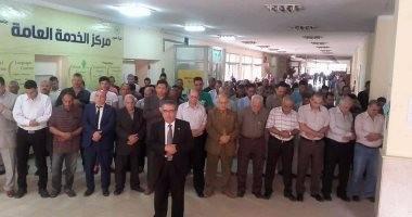 عميد كلية العلوم بجامعة المنوفية يؤدى صلاة الغائب على أرواح شهداء الشرطة