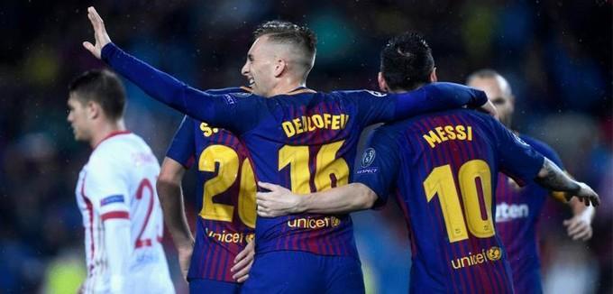 الليجا.. برشلونة 1-0 مالاجا.. هدف مشكوك في صحته