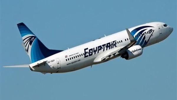 مصدر: مقتحم طائرة مصر للطيران القادمة من عمان يعانى المرض