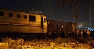 السيطرة على حريق نشب فى عربة قطار بمحطة بنها