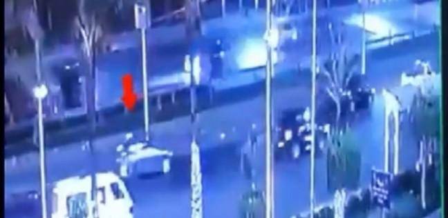 """فيديو.. خط سير الإرهابي عبدالرحمن خالد قبل انفجار""""معهد الأورام"""""""