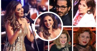 أنغام تتألق فى حفل كامل العدد بمهرجان الموسيقى العربية