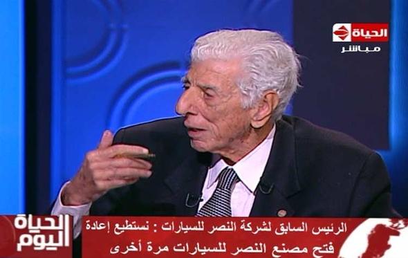 """شاهد.. رئيس """"النصر للسيارات"""" السابق: نستطيع إعادة التوازن للسوق بـ""""عربية مصرية"""""""