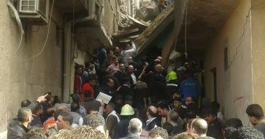 نائب محافظ القاهرة: 12 شخصا ضحايا عقار منشأة ناصر المنهار