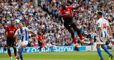 ملخص وأهداف مباراة برايتون ضد مانشستر يونايتد 3 – 2 فى الدورى الانجليزي