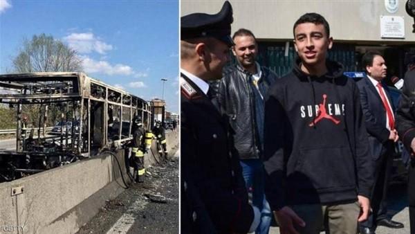 مسؤول إيطالي: سحب الجنسية من سائق حافلة التلاميذ ومنحها للبطل المصري