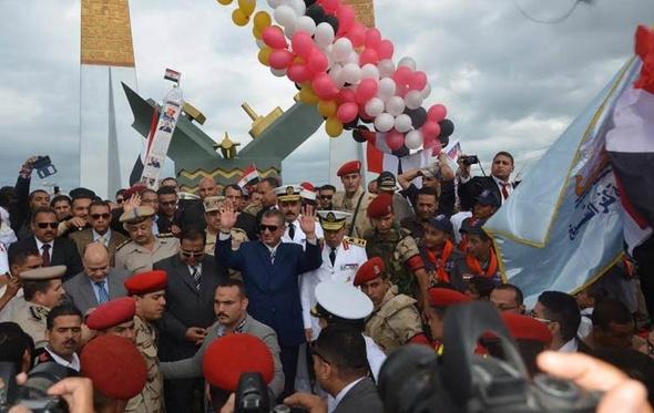 محافظ كفر الشيخ يفتتح النصب التذكاري وبانوراما معركة البرلس