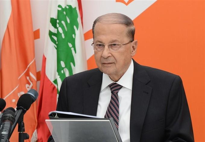 «عون»: نرفض بقاء «الحريري» بوضع يتناقض مع الاتفاقات الدولية