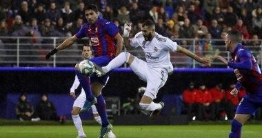 إيبار ضد ريال مدريد.. الملكي يعتلي صدارة الدوري الاسباني برباعية نظيفة