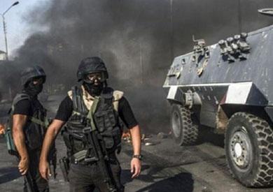 استشهاد شرطي و5 مدنيين في انفجار وإطلاق نار بشمال سيناء