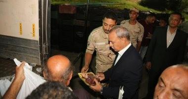 صور.. محافظ قنا يتفقد منفذ بيع منتجات القوات المسلحة