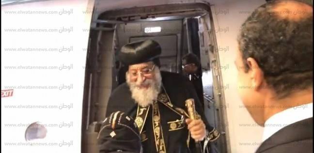 بالصور  البابا تواضروس يبدأ عمله الرعوي بألمانيا