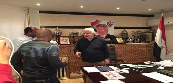 """مرتضى يدعو لاعبيه لأكلة """"سمك وجمبري"""".. ويؤكد: شكل الزمالك اختلف مع صلاح"""