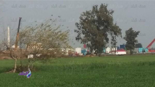 «بشاير الخير» ظهور حقل غاز جديد في بلقاس بالدقهلية.. صور