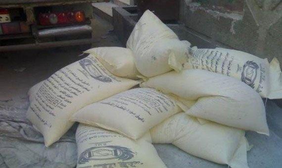 """ضبط صاحب مخزن جمع 20 طن دقيق مدعم لبيعها لمتهم في """"فساد القمح"""""""
