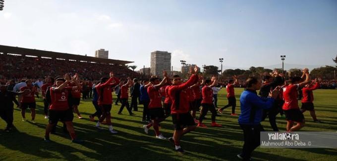 مران الأهلي.. عودة البدري وغياب الشامي وجلسة مع حمودي وشكوى من الكرة