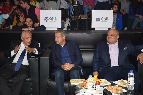 بالصور - وزير الرياضة يسلم جوائز بطولة العالم للاسكواش بوادي دجلة