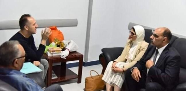 بعد زيارة وزيرة الصحة له.. أسرة شريف مدكور: ممتنون لموقفها الإنساني