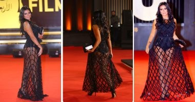 """""""هتم 45""""..رانيا يوسف ترد على انتقادات ظهورها بفستان عارى فى مهرجان القاهرة"""