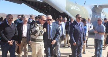 تفاصيل الجولة السياحية لـ9 سفراء و11 ملحقا عسكريا بمدينة سانت كاترين