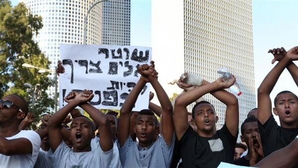 الإثيوبيون يشعلون إسرائيل .. شاهد تظاهرات اليوم الرابع على التوالي