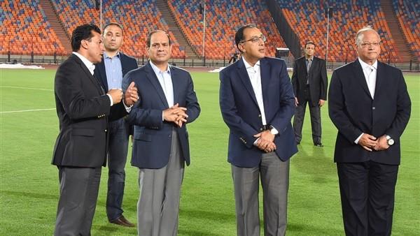 بسام راضي يكشف تفاصيل جولة الرئيس السيسي التفقدية لاستاد القاهرة
