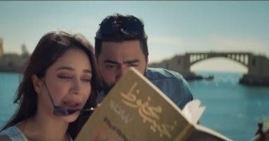 """""""تنشيط السياحة بالإسكندرية"""" تشكر تامر حسنى بعد """"ناسينى ليه"""".. والنجم: لا شكر على واجب"""