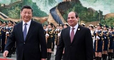 الرئيس السيسي يغادر بكين متوجهاً إلى أوزبكستان