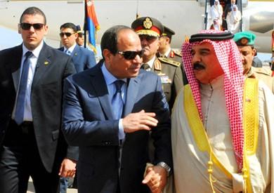 «السيسي» يغادر العاصمة البحرينية المنامة بعد ختام زيارته للمملكة