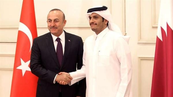 بيان مشترك من قطر وتركيا ضد قرار ترامب بسبب الحرس الثوري الإيراني