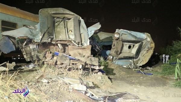 نائب يطالب بإحالة المتسببين في حادث قطار الإسكندرية للنيابة