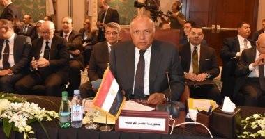 وزير الخارجية: مصر تدعم حكومة السودان ويجب إنجاز التسوية السياسية الشاملة بليبيا