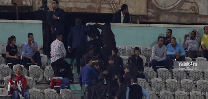 النائب العام يكلف أمن الدولة بالتحقيق في أحداث شغب مباراة الأهلي ومونانا