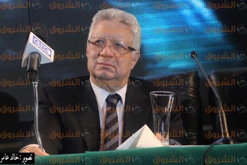 مرتضى منصور يعلق على أنباء التفاوض مع فتحي والسعيد
