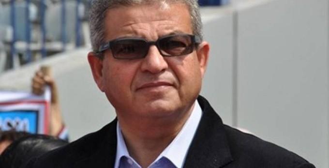 بالصور  وزير الرياضة يجتمع مع ممدوح عباس