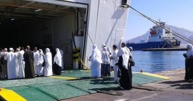 """""""موانئ البحر الأحمر"""" تعلن انتهاء سفر الحج البرى بمغادرة 12.5 ألف حاج"""