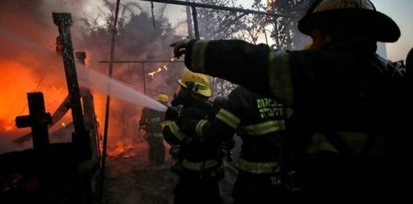 «الإطفاء الإسرائيلي» يعلن إخماد كافة الحرائق
