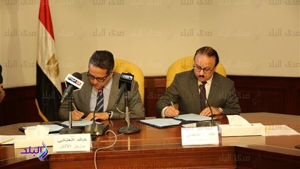 وزير الآثار: نسعى لبناء منظومة معلوماتية دقيقة عن التراث الأثري المصري