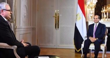 السيسى حول إمكانية التصالح مع الإخوان: الإجابة عند الشعب المصرى