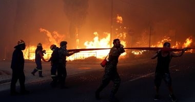إيطاليا ورومانيا ترسلان طائرات لمكافحة الحرائق فى اليونان