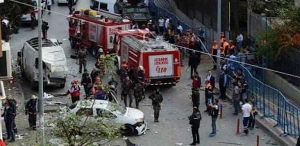 """يلديريم: مقتل 8 أشخاص وإصابة 100 في هجوم لـ""""العمال"""" الكردستاني"""