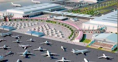 توقف الملاحة الجوية فى مطار دبى الدولى بسبب تحليق طائرة بدون طيار