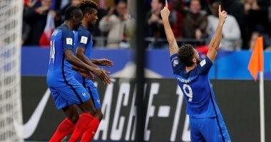فرنسا تتأهل رسميًا لكأس العالم بثنائية فى بيلاروسيا.. والسويد للملحق