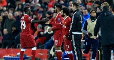 محمد صلاح يشارك فى تأهل ليفربول إلى ربع نهائى الأبطال على حساب بورتو