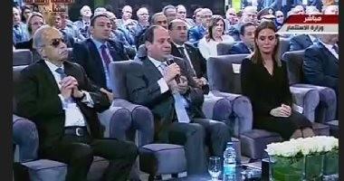 """السيسي: """"الحكومة مش طرف فى استيراد غاز إسرائيل.. وما عندناش حاجة نخبيها"""""""