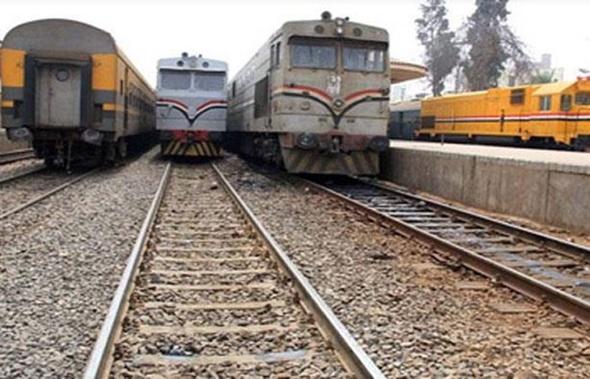 القبض على عصابة سرقة قضبان السكك الحديدية بالمنوفية