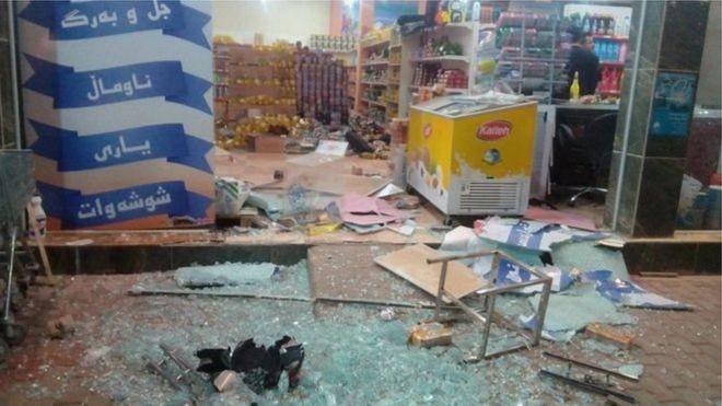 ارتفاع حصيلة ضحايا الزلزال في ايران لـ 129 شخصا