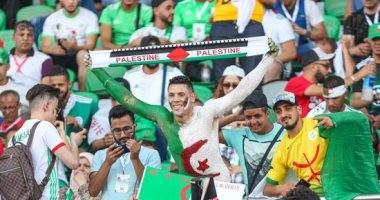 حضور جماهيري غفير فى مباراة الجزائر والسنغال